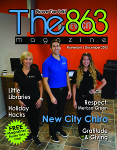 New City Chiro in Lakeland; Little Free Libraries; Holiday Hacks; Respect: Melissa Green; Gratitude & Giving; The Difference Between Parenting Boys and Girls; Non-Profit Spotlight: Meals on Wheels of Polk County.