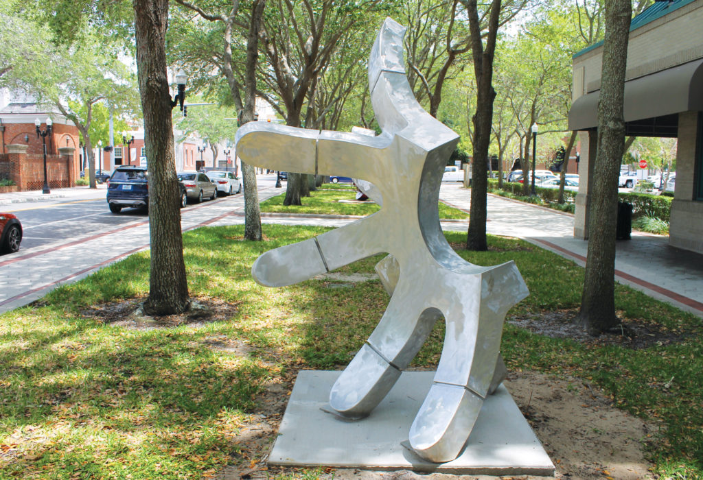 Public Art in the Parks: Lakeland's Lemon Street